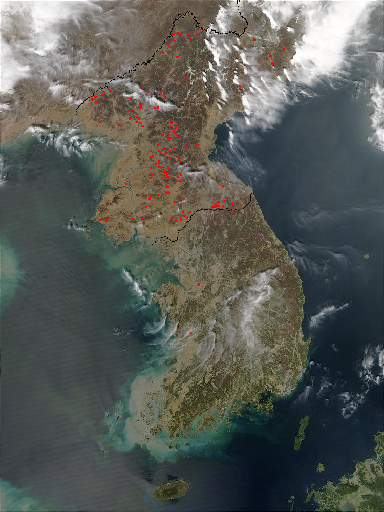 Fires across North Korea - related image preview