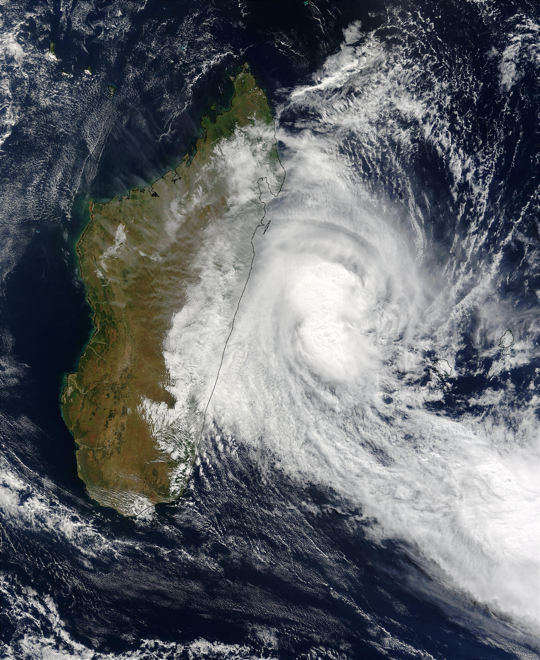 Tropical Cyclone Manou (28S) over Madagascar - related image preview
