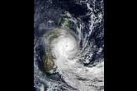 Tropical Cyclone Manou (28S) over Madagascar