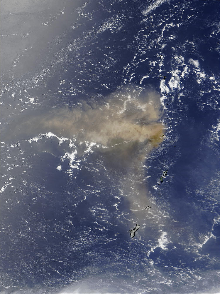 Eruption of Anatahan Volcano, Northern Mariana Islands - related image preview