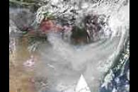Fires and smoke in Russia and China (Terra/Aqua combination)
