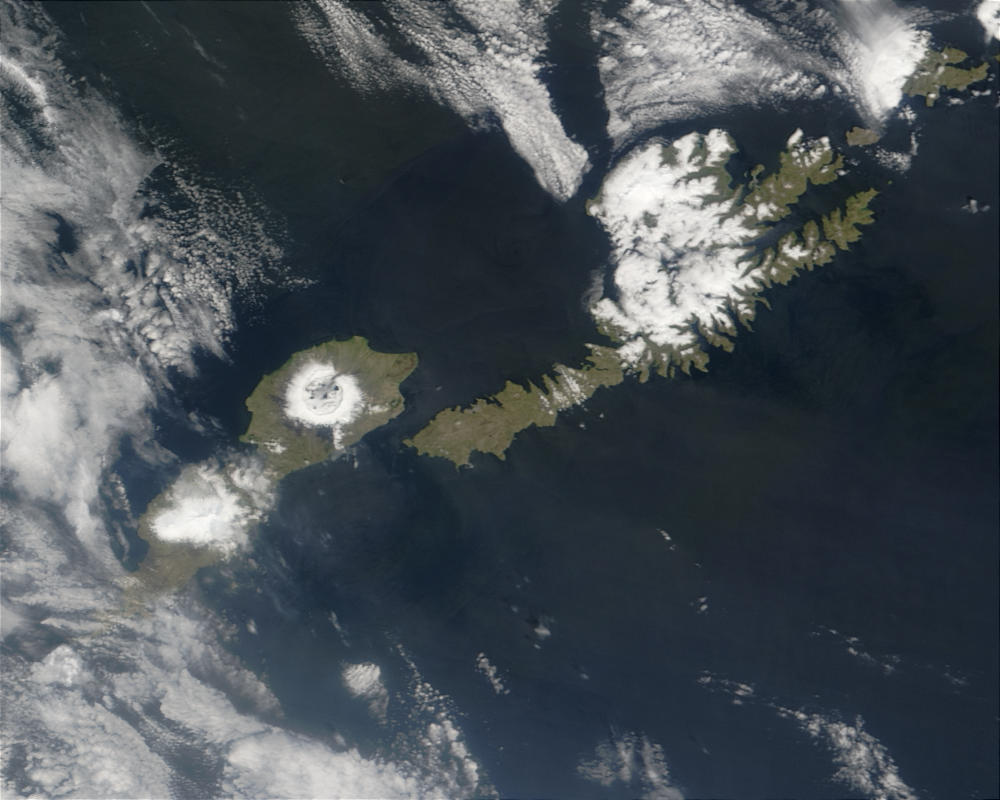 Umnak and Unalaska Islands in the Aleutian Chain - related image preview