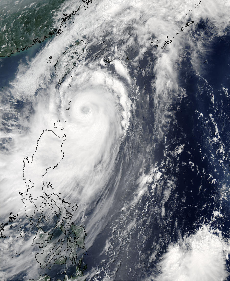 Tropical Cyclone Soudelor (07W), Philippine Sea - related image preview