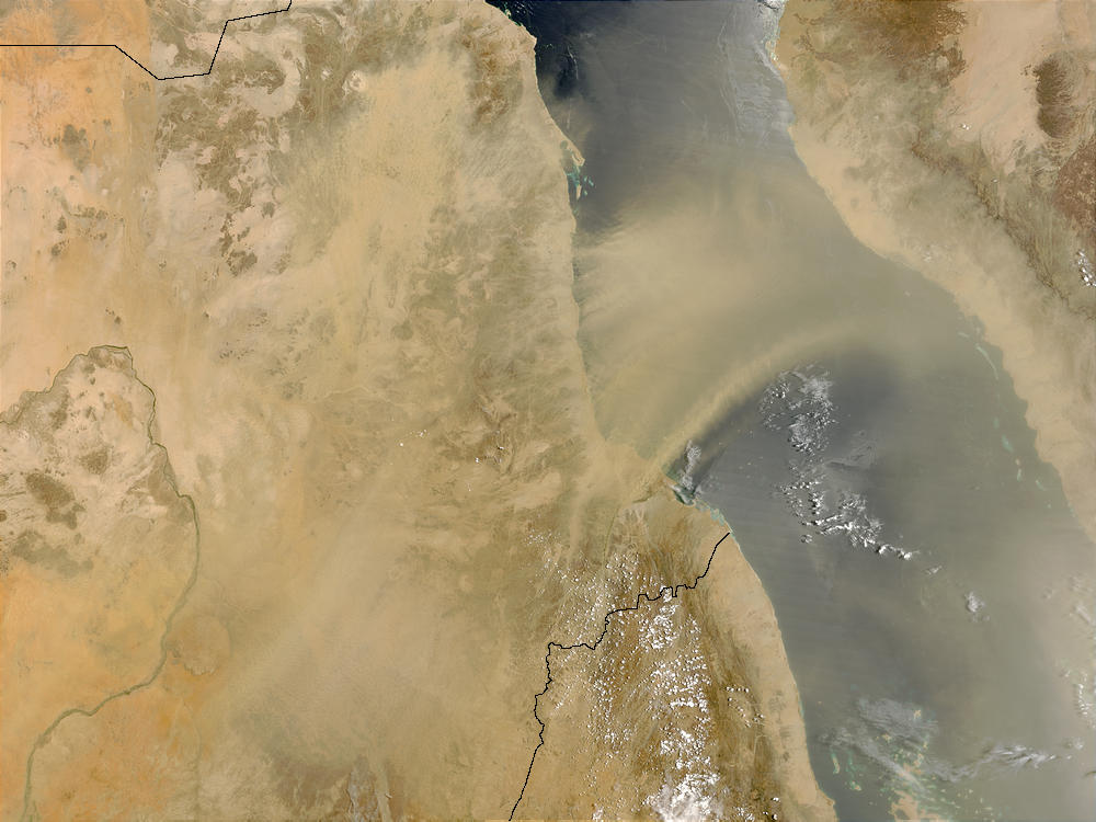 Dust storm in Sudan - related image preview