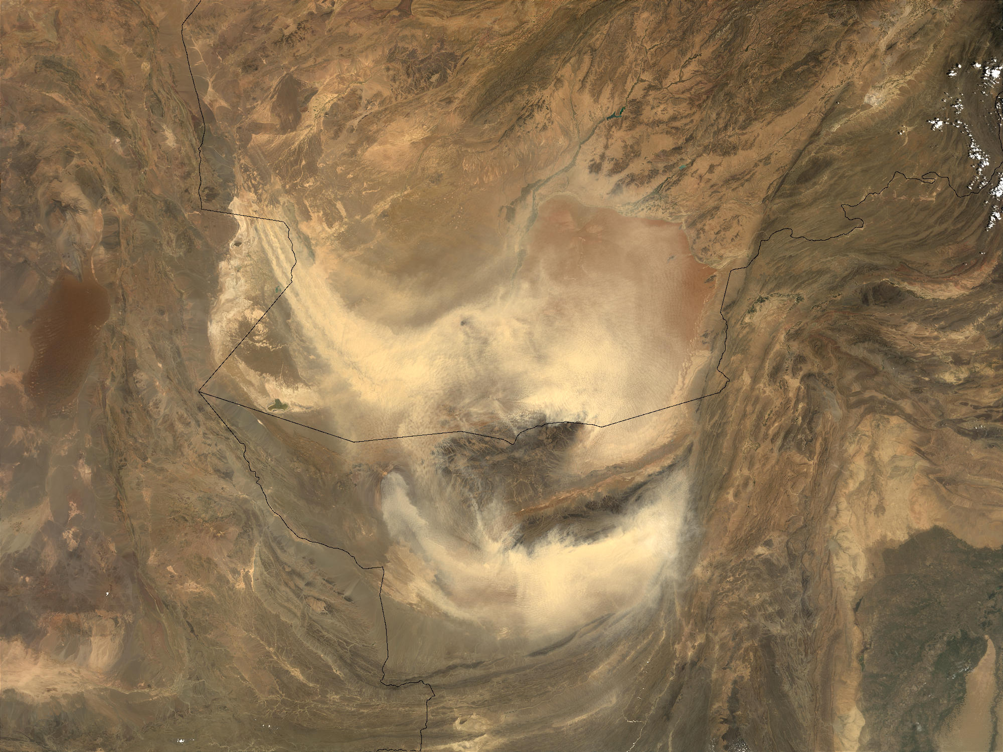 Dust storm in Afghanistan and Pakistan - related image preview