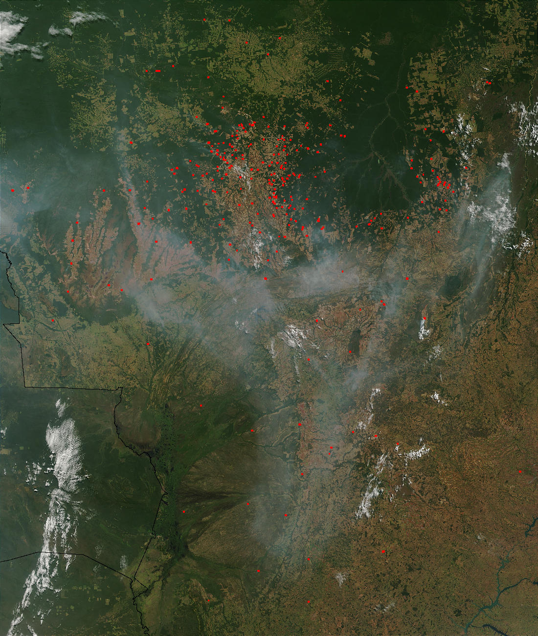 Fires and smoke in Brazil - related image preview