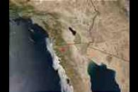 Fires in Northern Baja California, Mexico