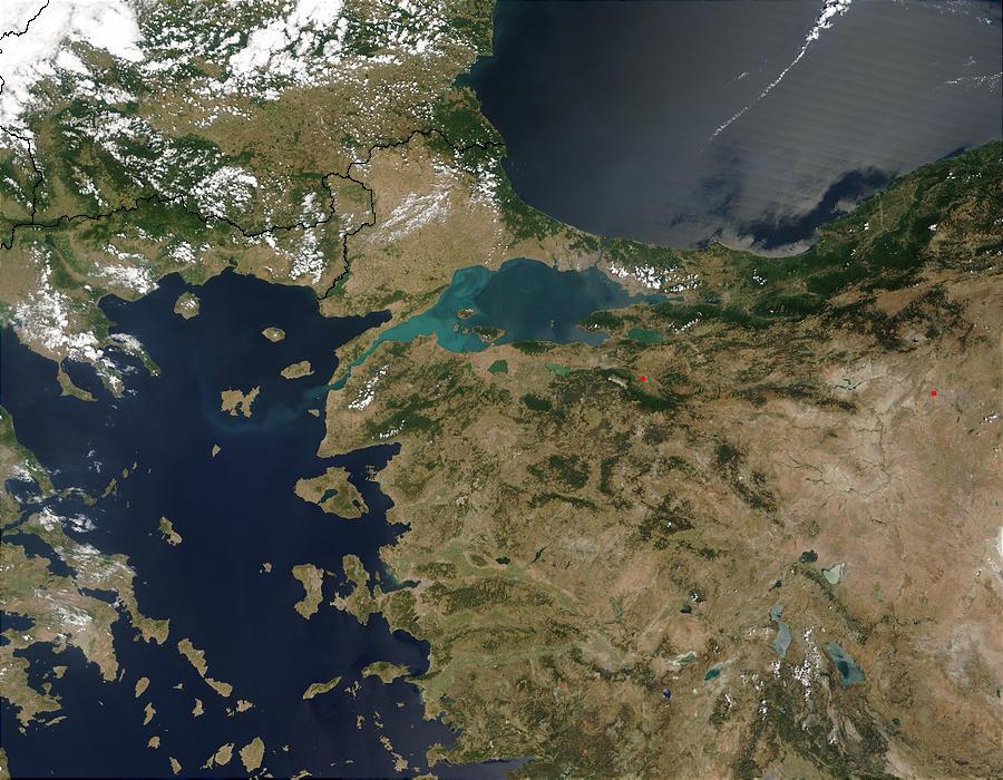 Márvány-tenger az űrből