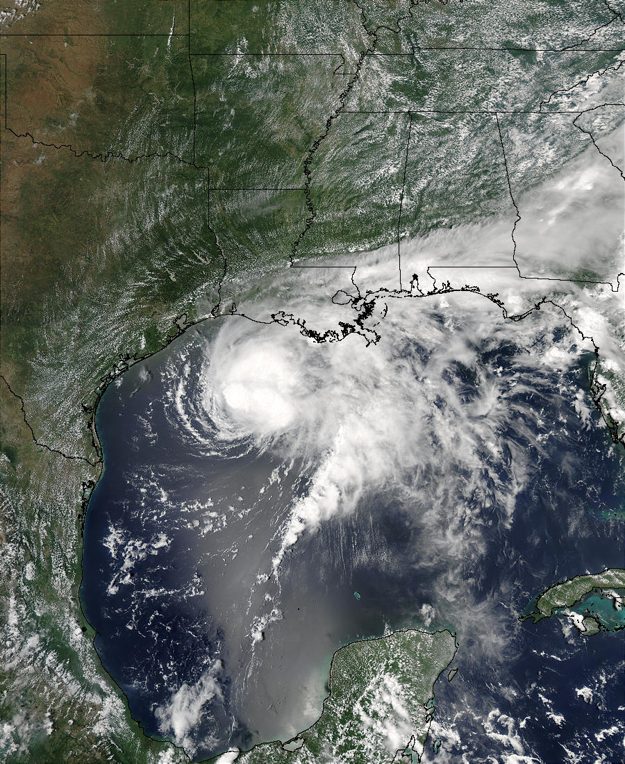 Tropical Storm Claudette, Gulf of Mexico - related image preview