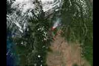 Fawn Peak Complex Fire, Washington