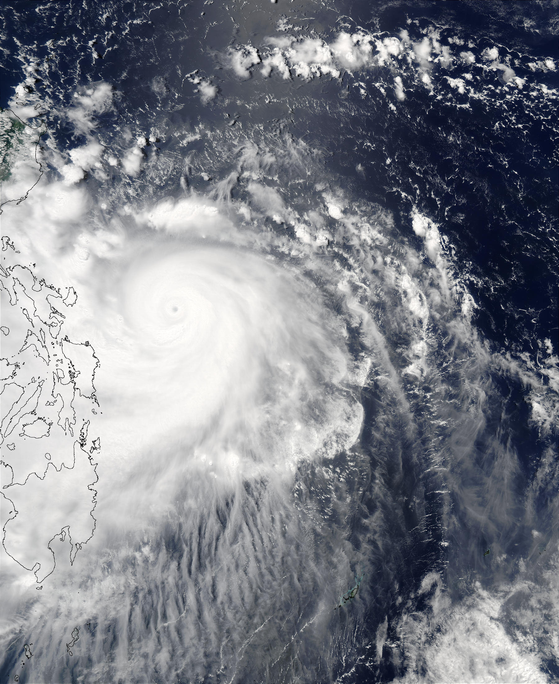 Super Typhoon Imbudo (09W) off the Philippines - related image preview