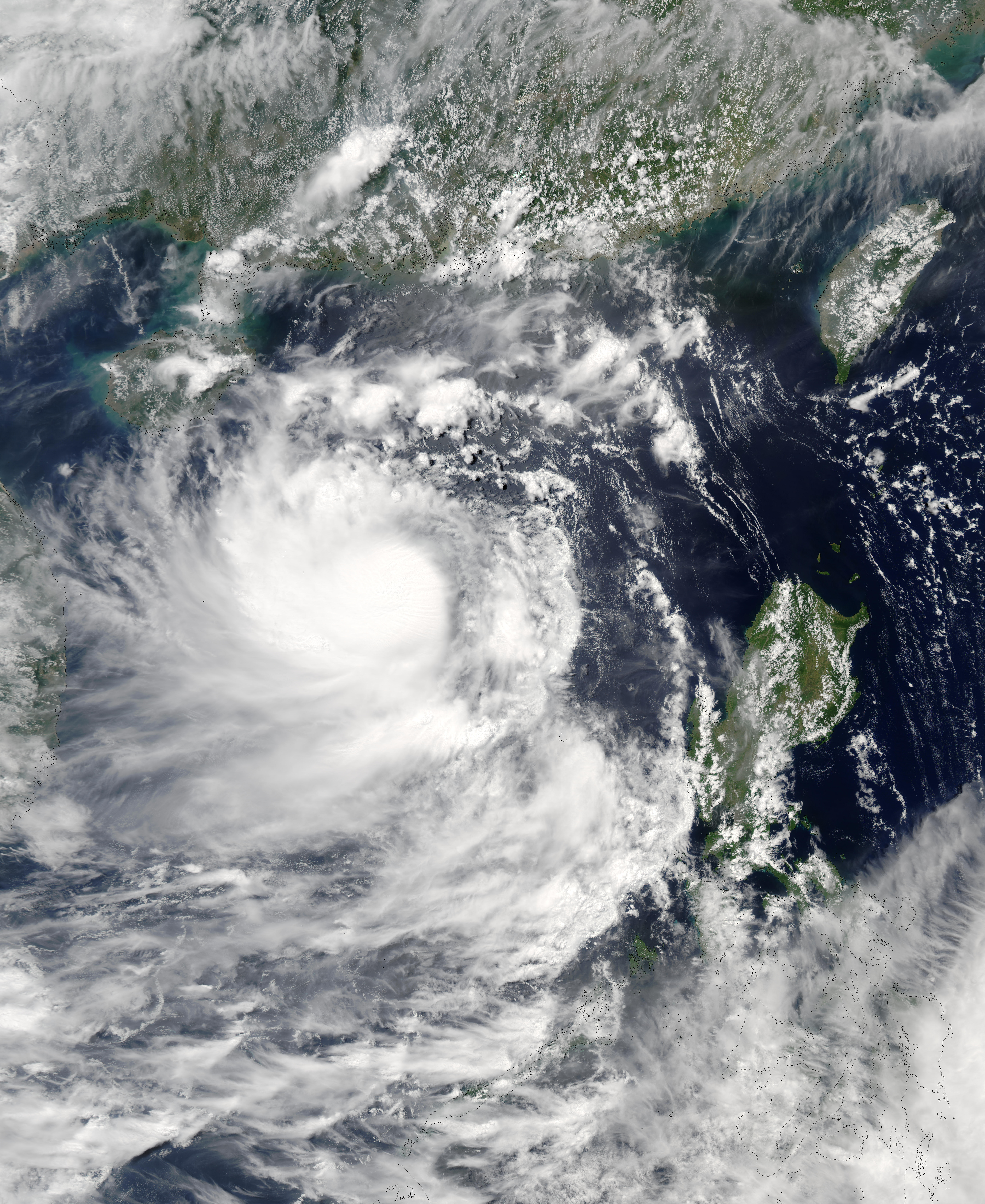 Typhoon Koni (08W) off China and Vietnam - related image preview