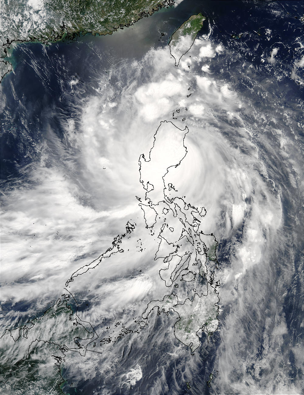 Typhoon Imbudo (09W) over the Philippines - related image preview