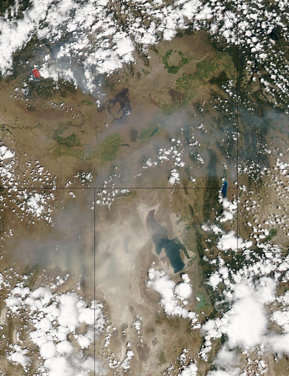 Dust Storm near Salt Lake City, Utah - related image preview