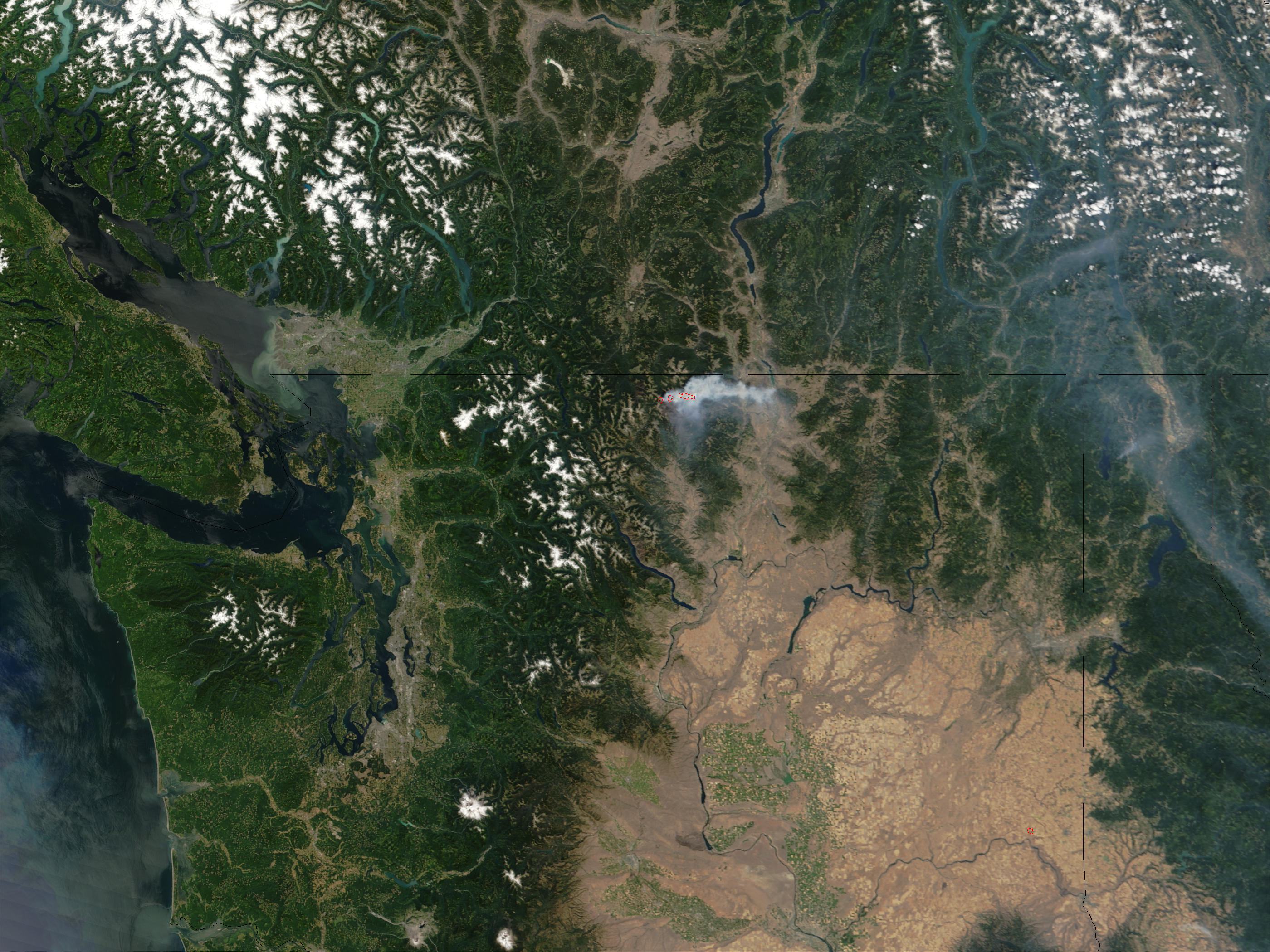 Fawn Peak Complex Fire, Washington - related image preview