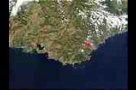 Fires in Southeast France