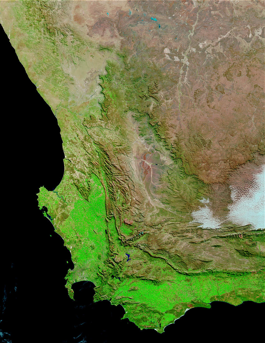 Western South Africa (normal drought conditions) - related image preview