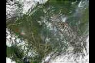 Fires in British Columbia and Alberta