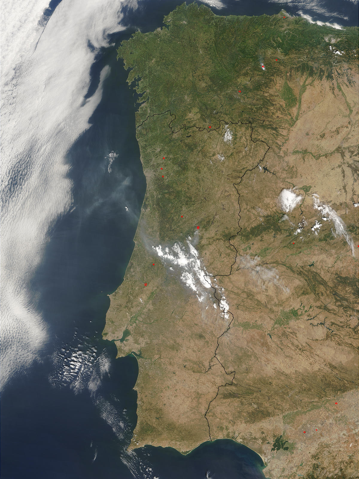 Fires in Portugal and Spain - related image preview