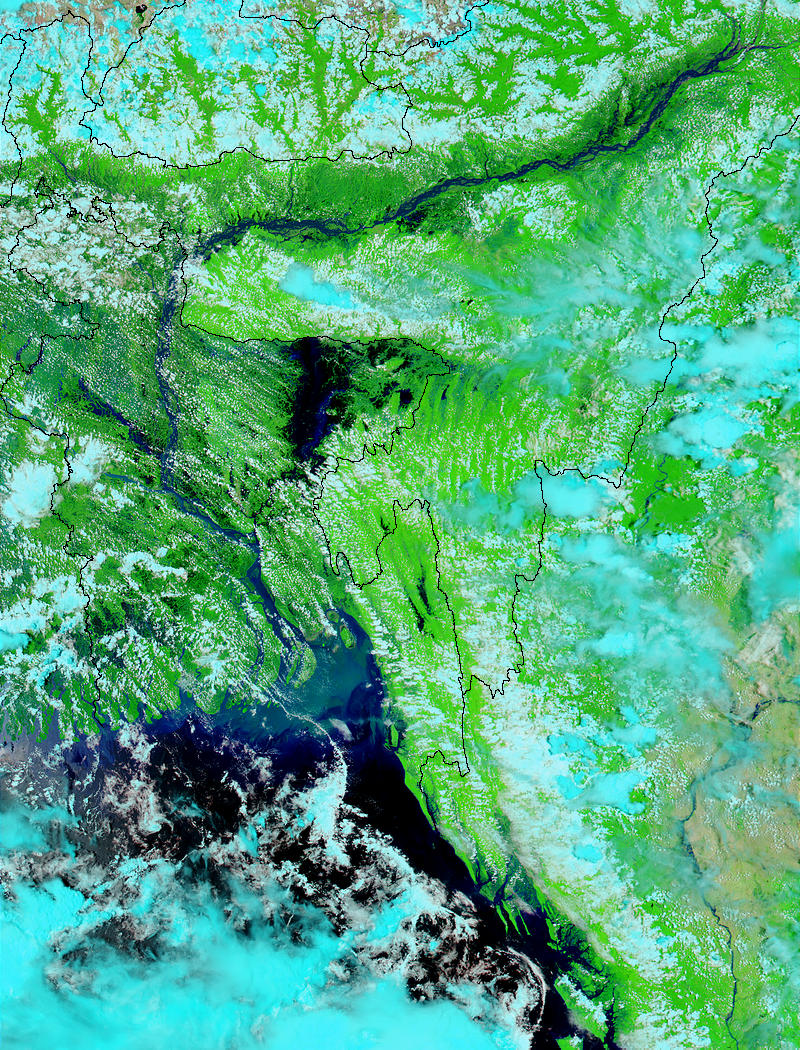 Floods in Bangladesh and India - related image preview