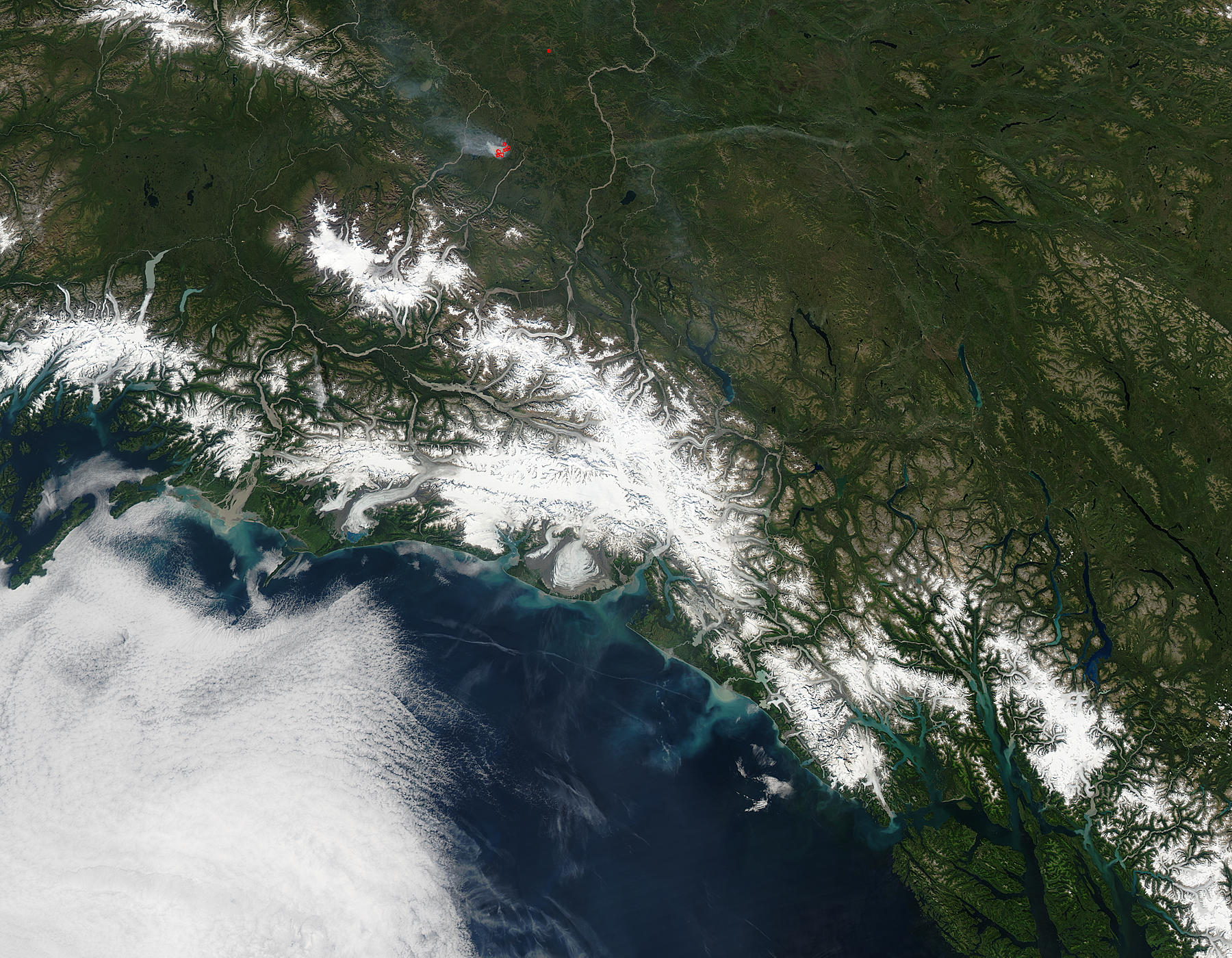 Sediment along the southern coast of Alaska - related image preview