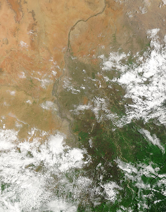 Flooding along the White Nile, Sudan - related image preview