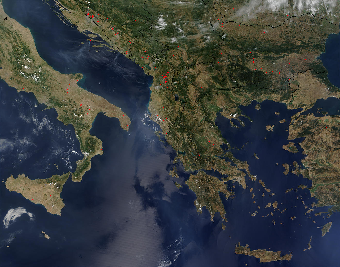 Fires in the southern Balkans - related image preview