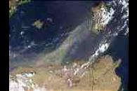 Saharan Dust over the Mediterranean Sea