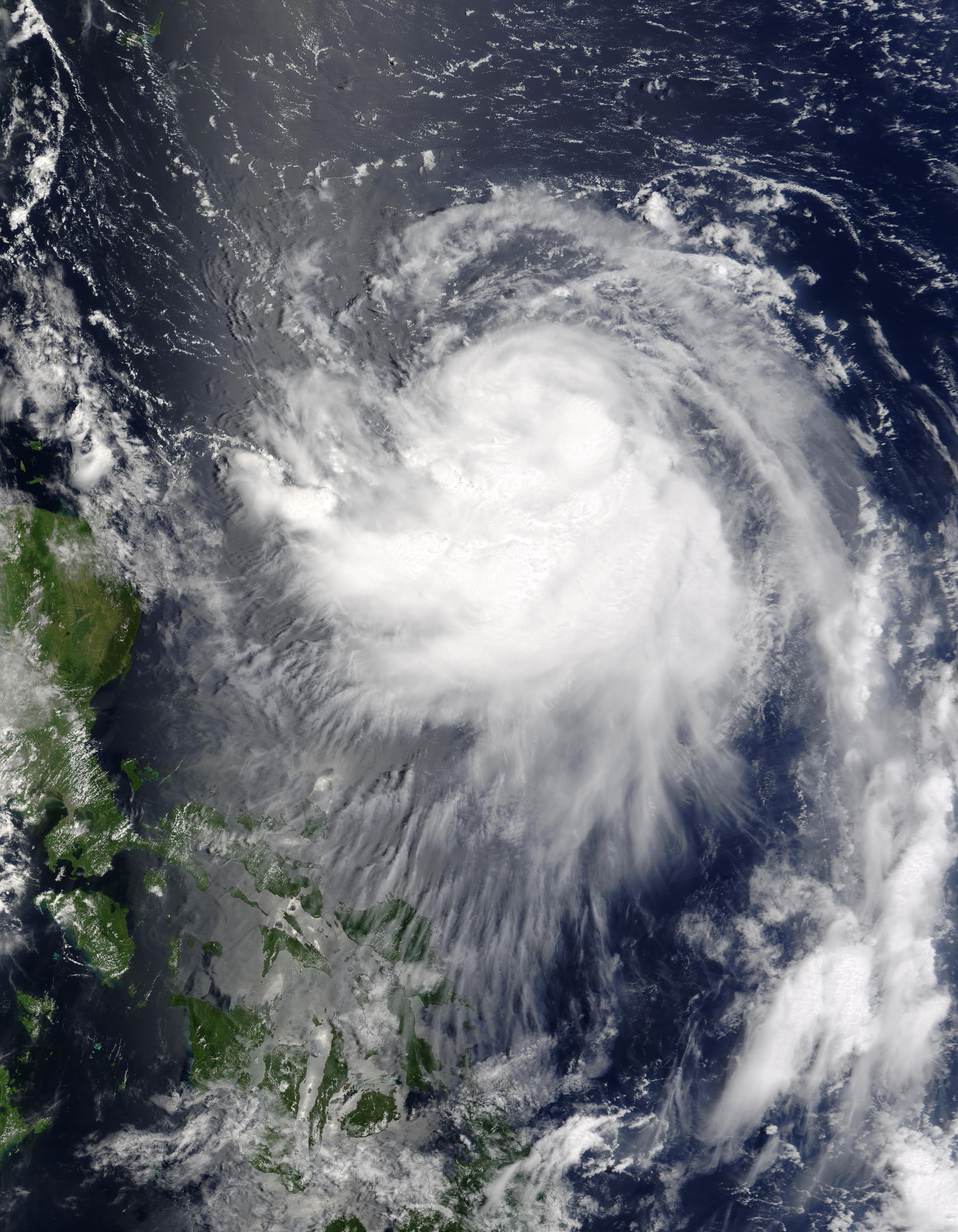 Typhoon Krovanh (12W) approaching the Philippines - related image preview