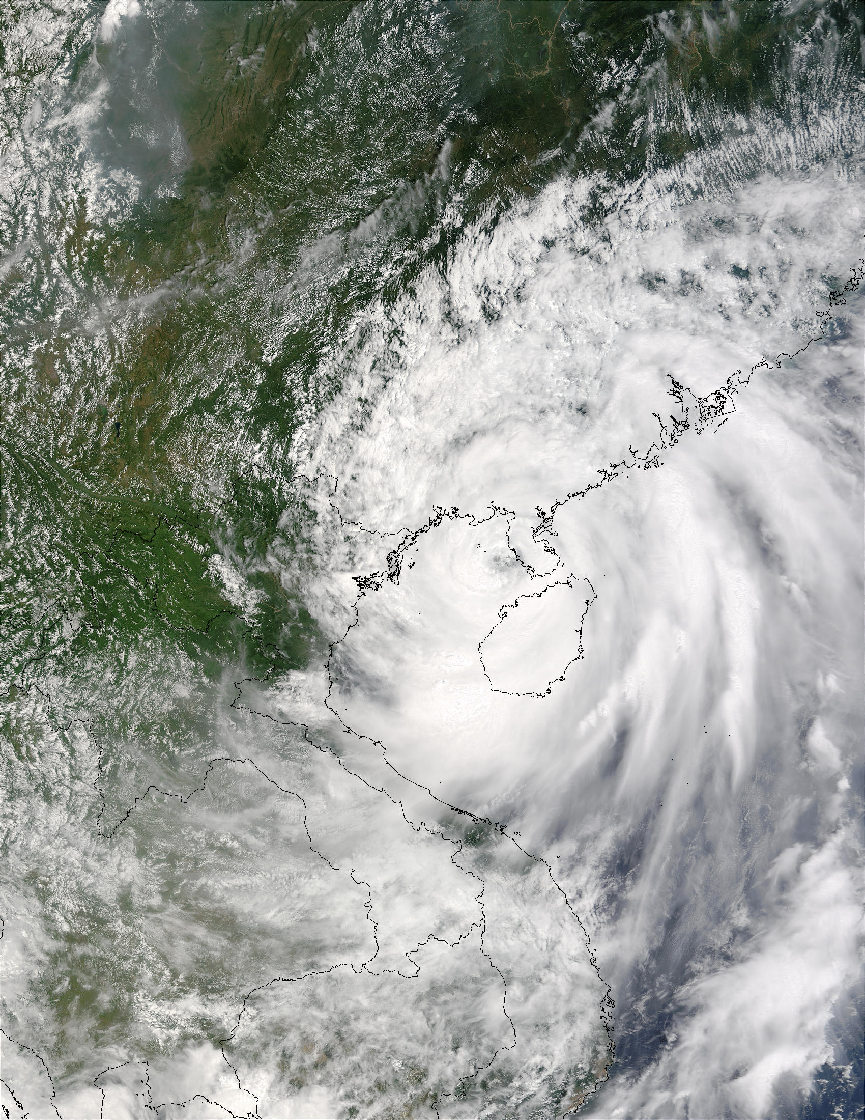 Typhoon Krovanh (12W) over China - related image preview
