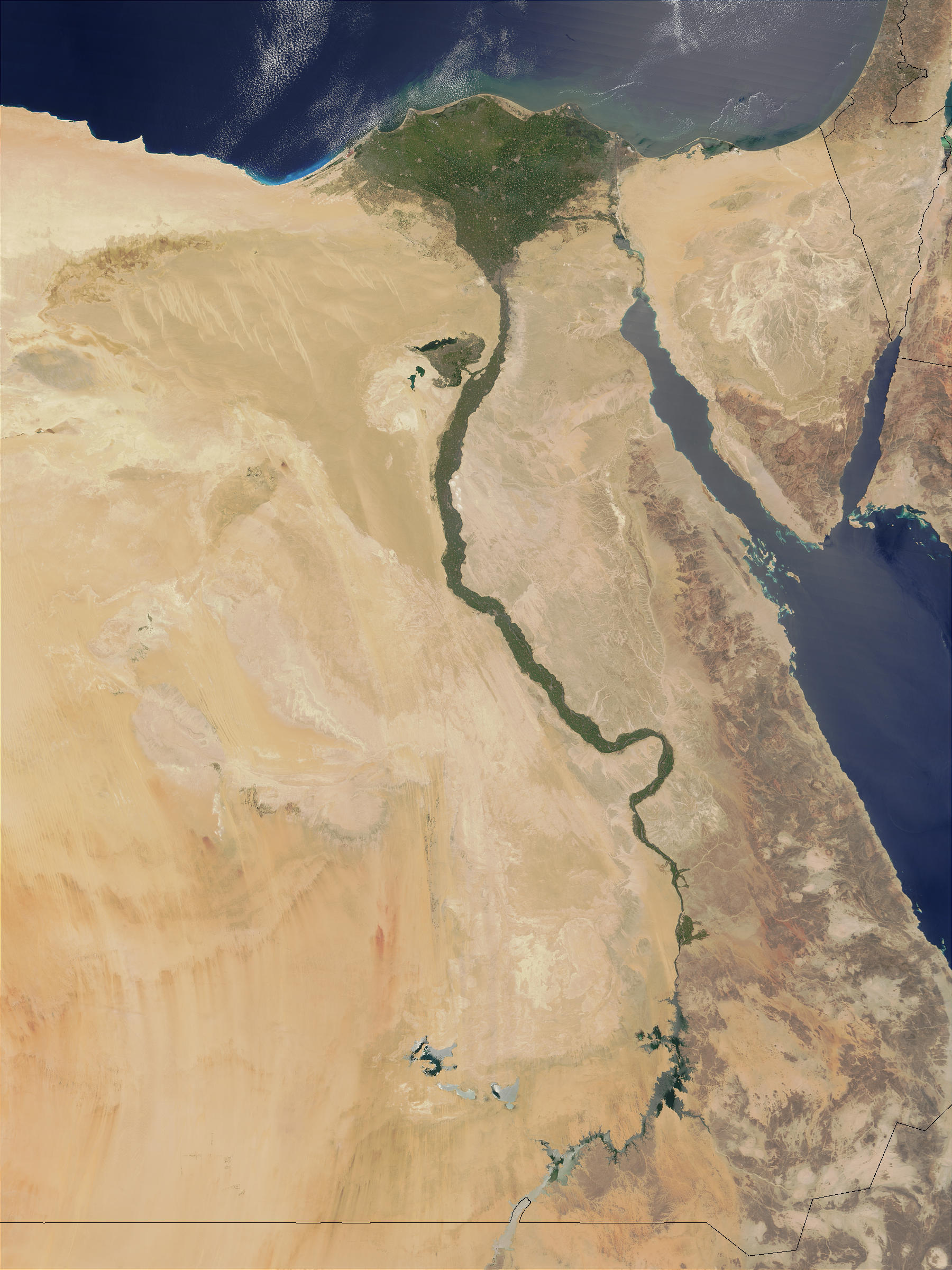 The lower Nile Valley - related image preview