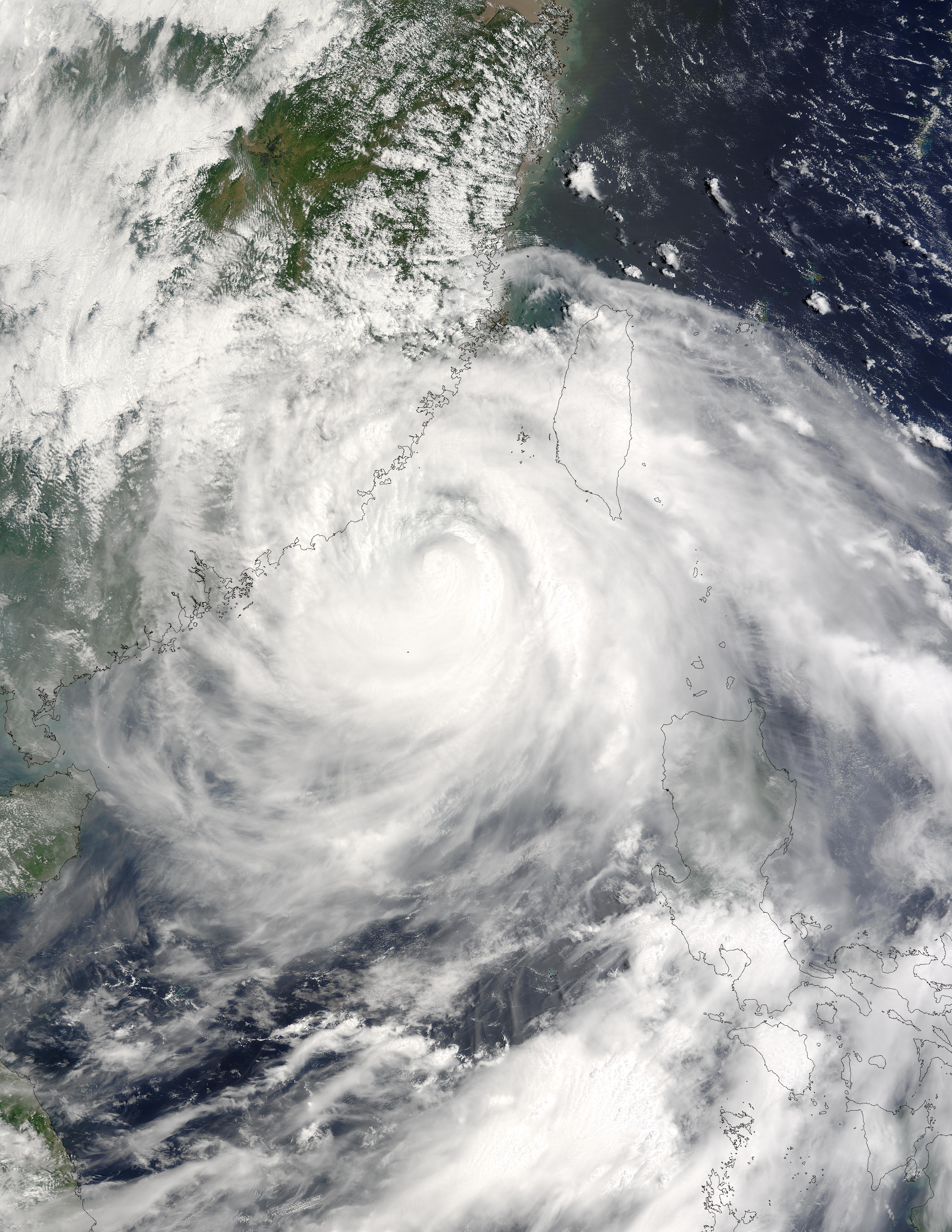 Typhoon Dujuan (14W) off China - related image preview