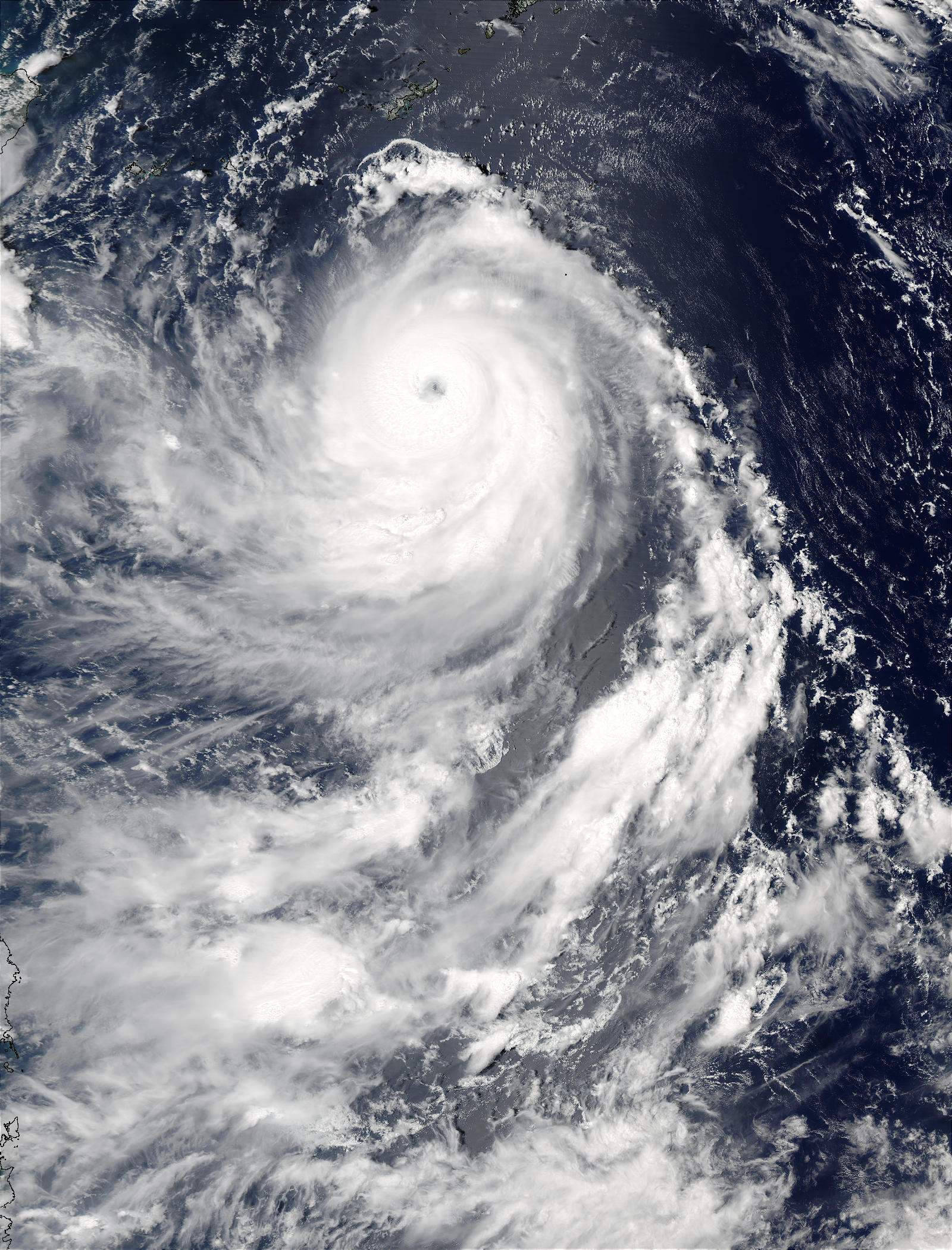Super Typhoon Maemi (15W) south of Japan - related image preview