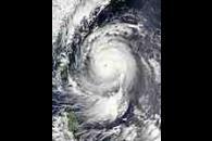 Super Typhoon Maemi (15W) east of Taiwan