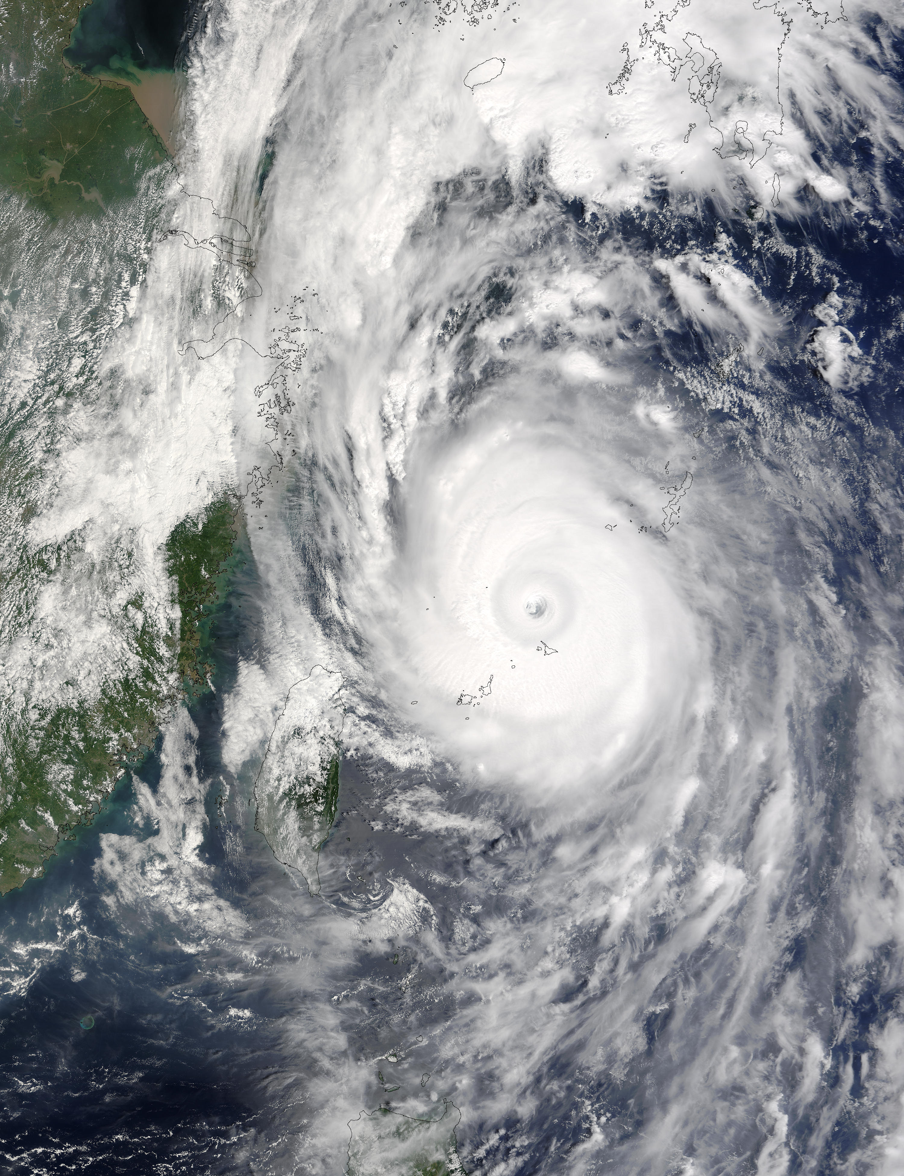 Typhoon Maemi (15W) off China - related image preview