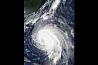 Hurricane Isabel off the Bahamas