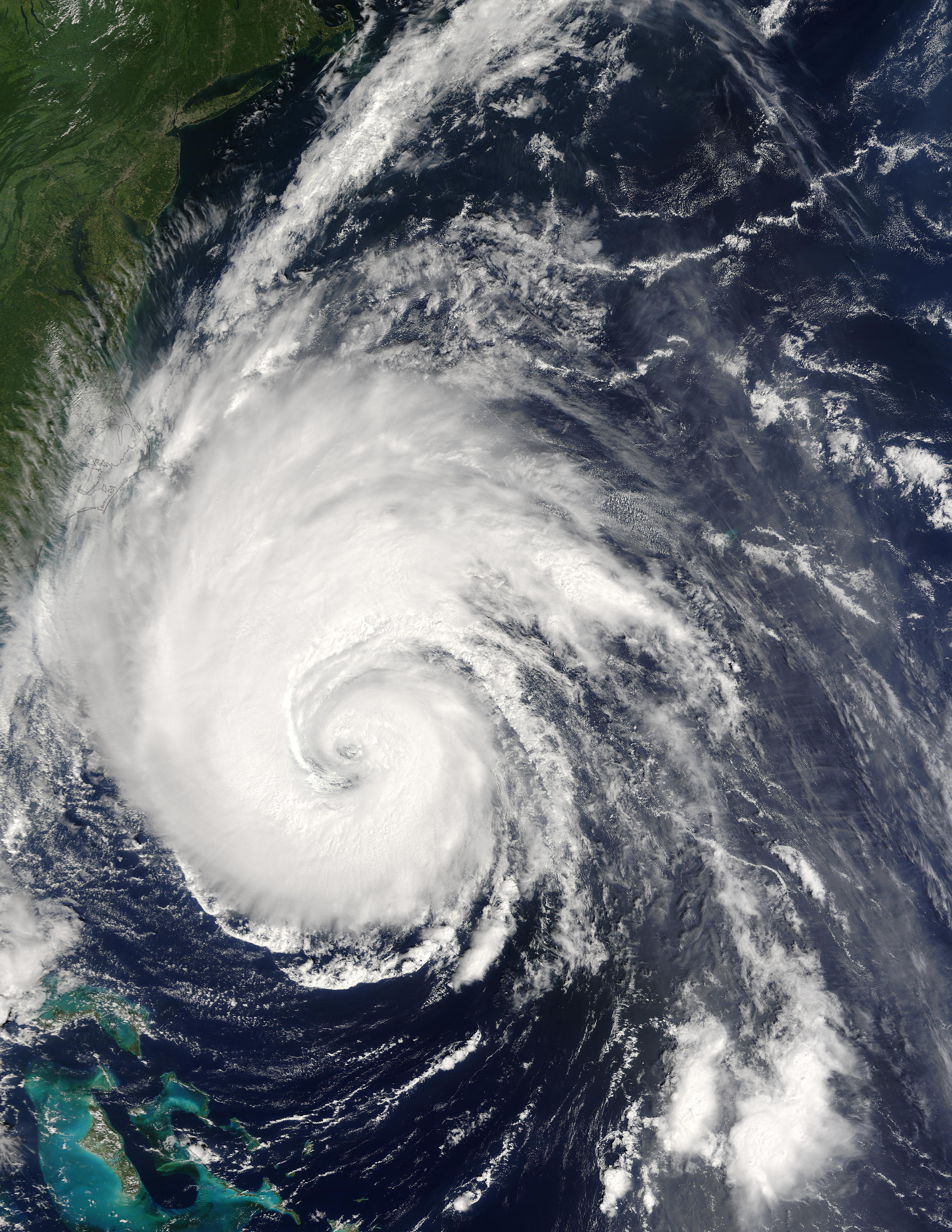 Hurricane Isabel off the US East Coast - related image preview