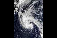 Hurricane Juan east of Bermuda