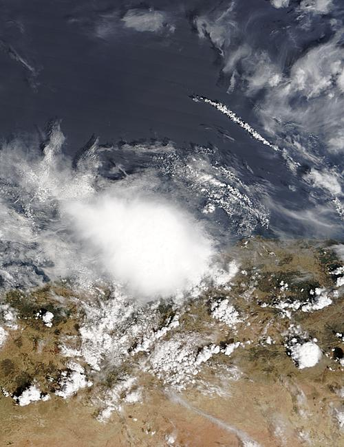 Storm over Algerian coast - related image preview