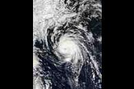 Hurricane Juan south of Nova Scotia