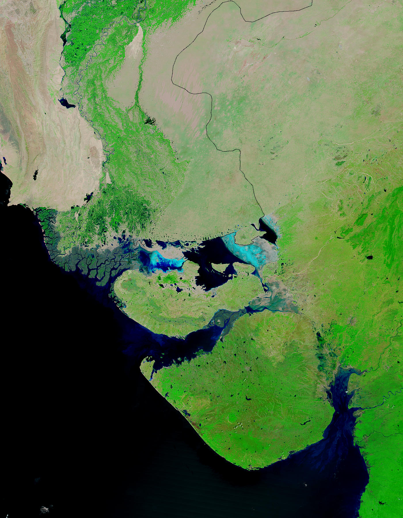 Floods in Gujarat, India - related image preview