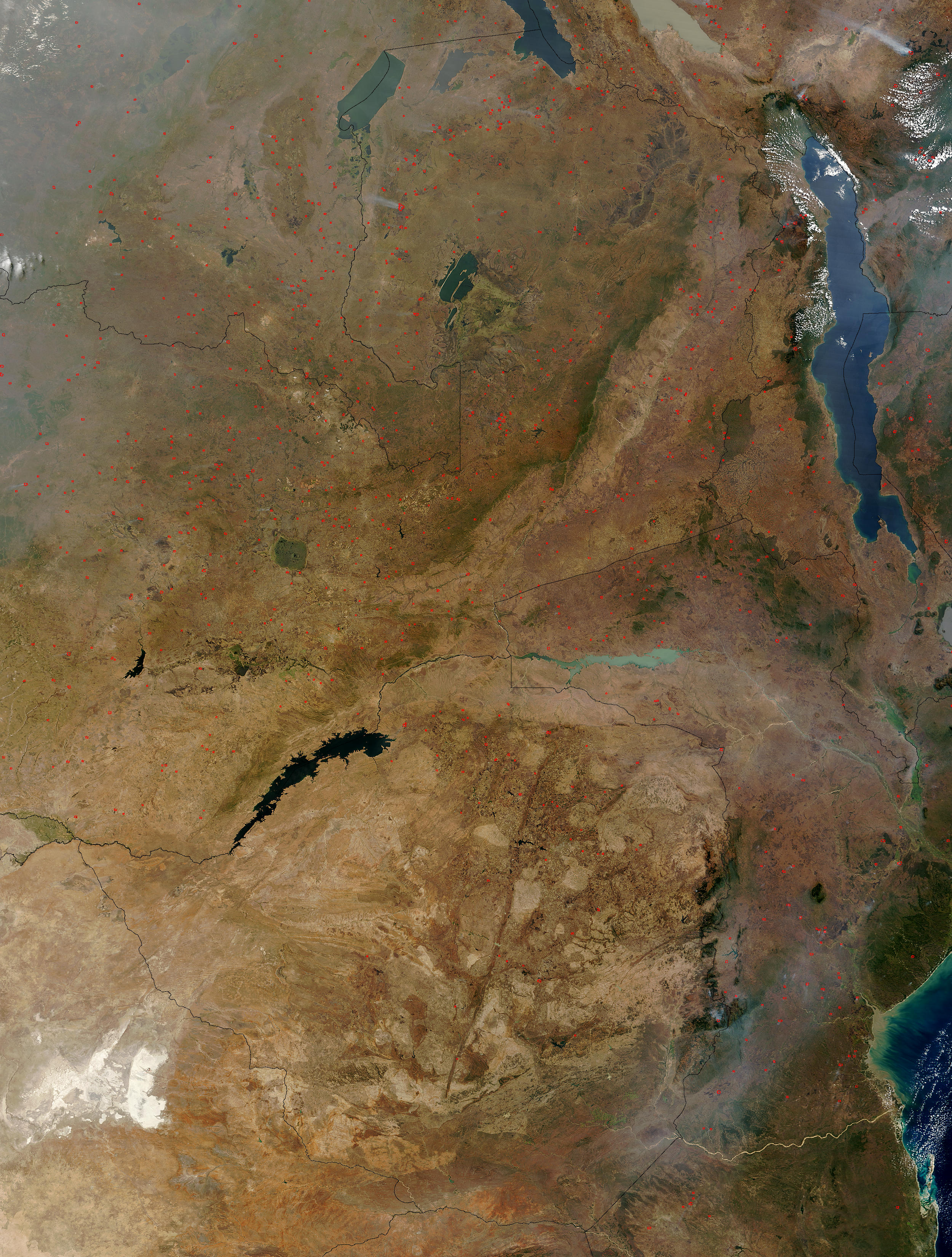 Fires across Zambia - related image preview