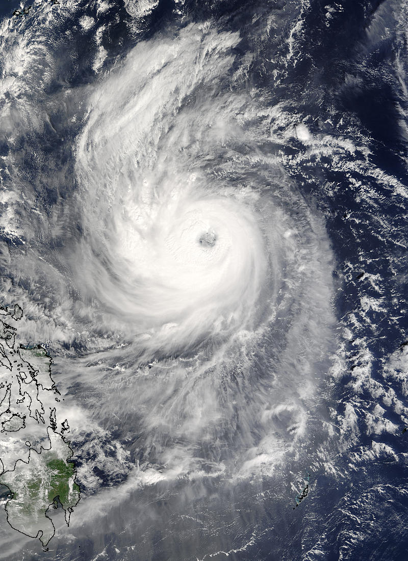 Typhoon Ketsana (20W), off the Philippine Islands - related image preview