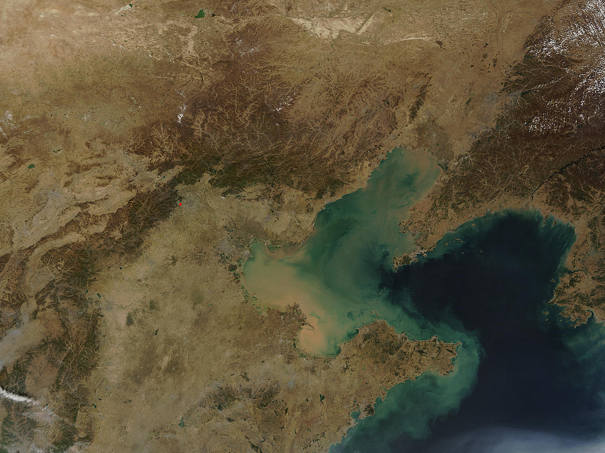 Bo Hai and northeastern China - related image preview