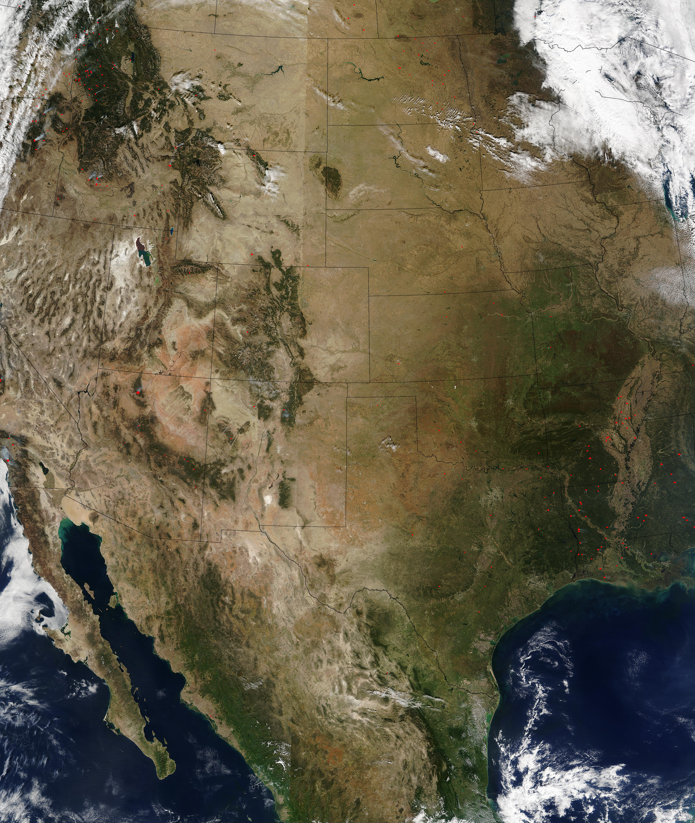 Central and Western United States - related image preview