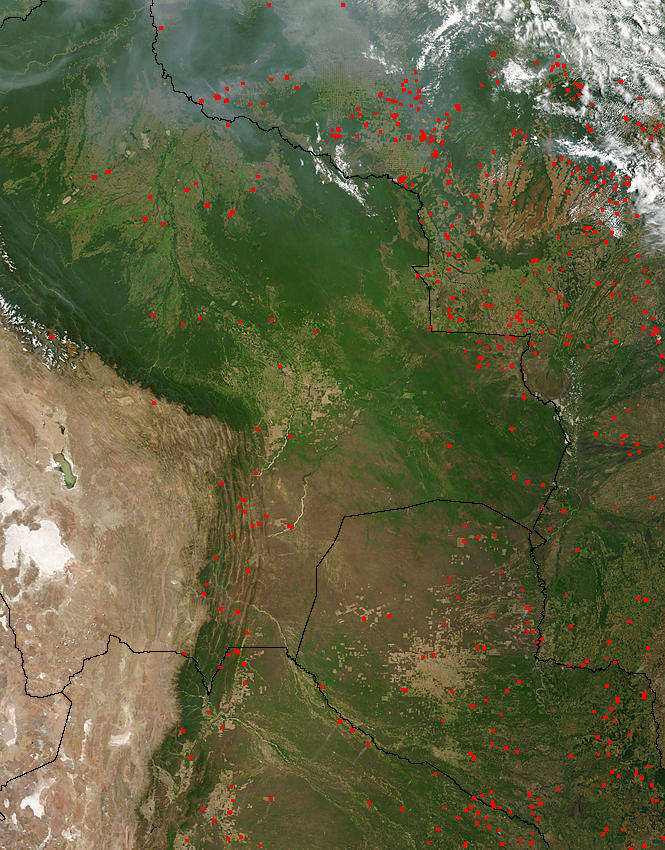 Bolivia and Paraguay - related image preview