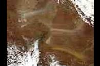 Dust Storms in northeastern South Australia