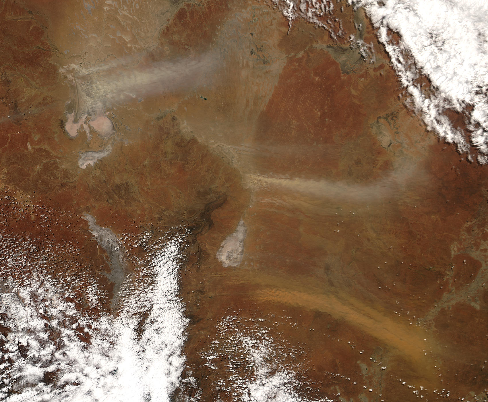 Dust Storms in northeastern South Australia - related image preview