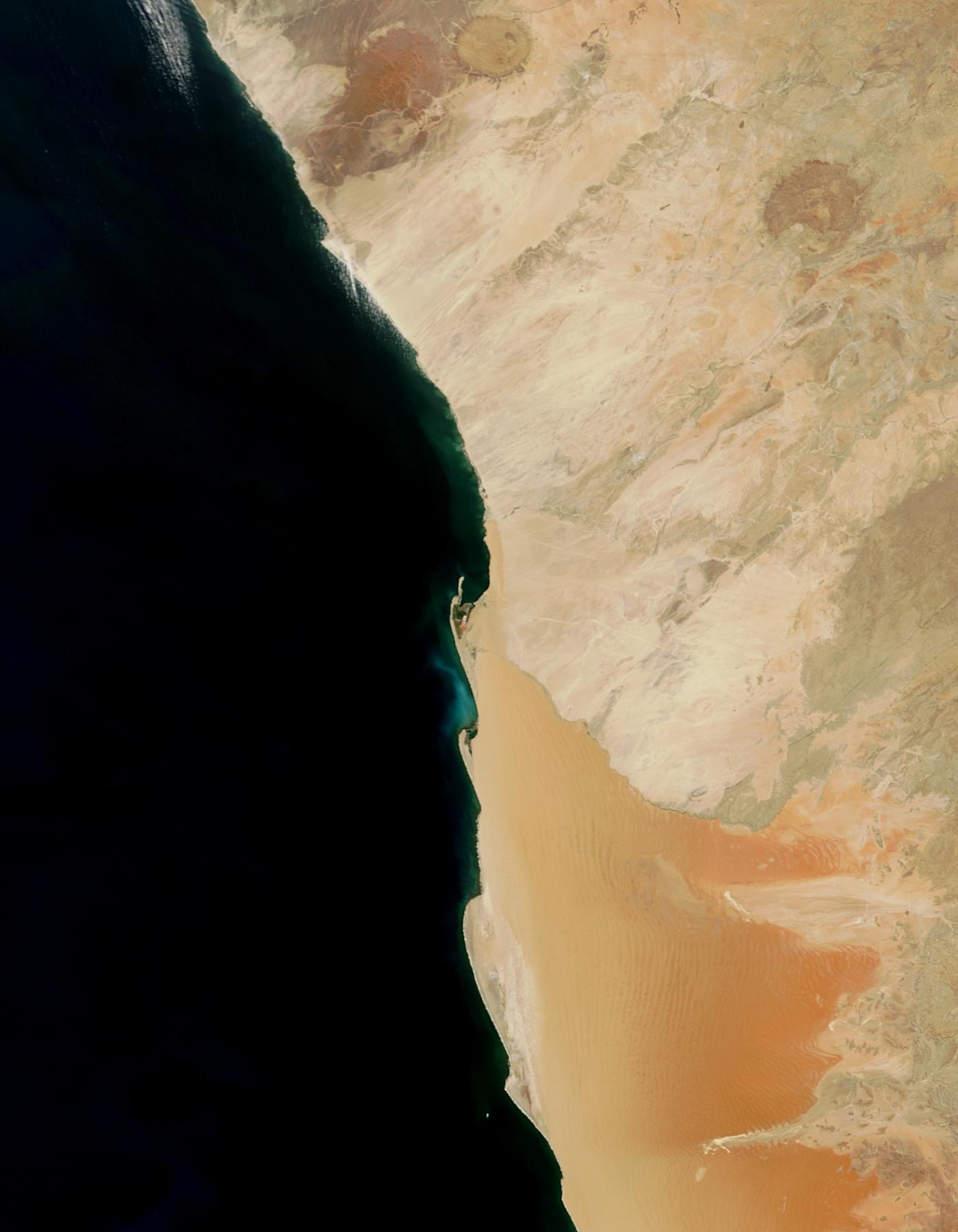 Hydrogen sulphide eruption along the Namibia coast - related image preview