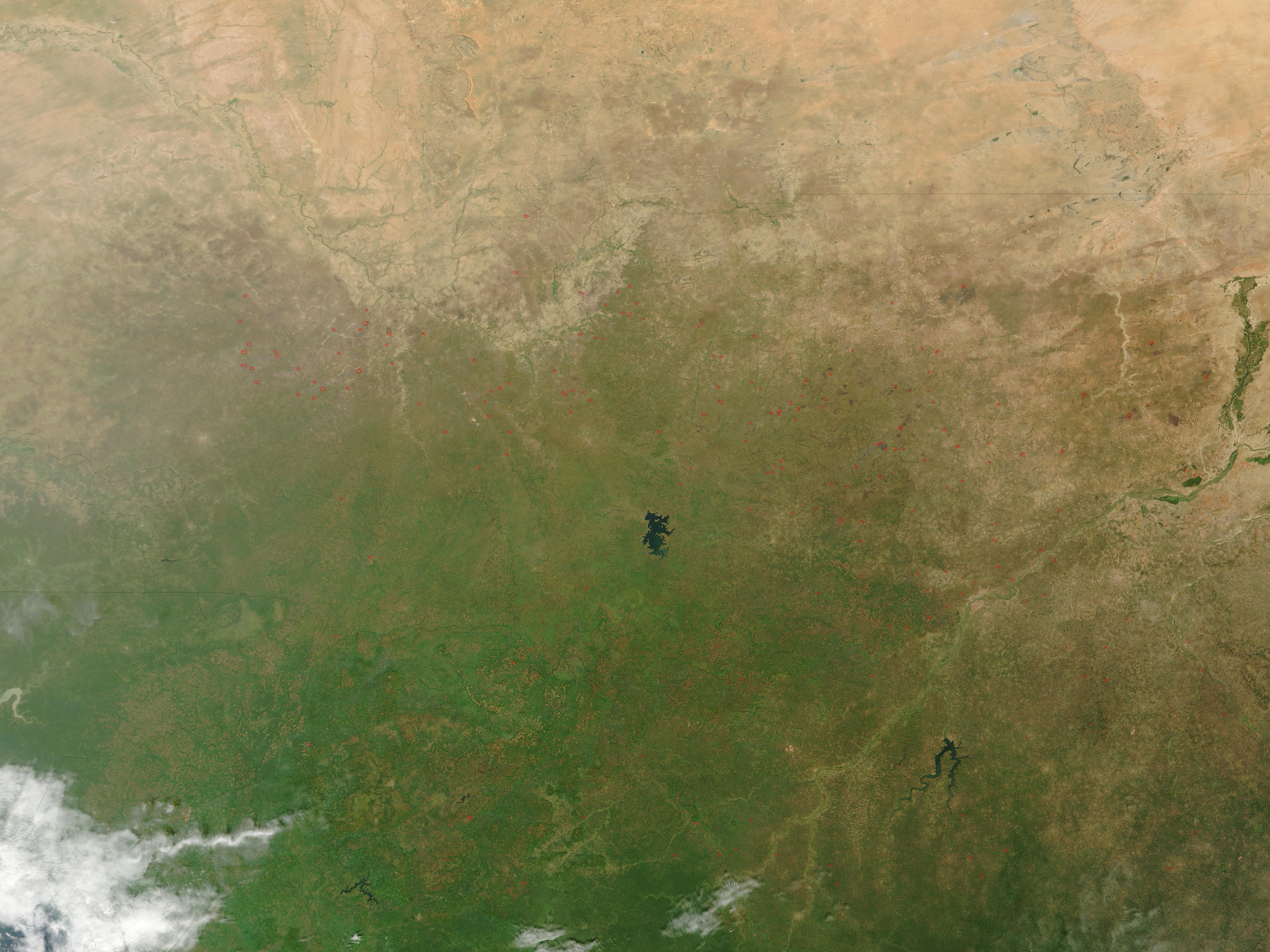 Fires across West Africa - related image preview